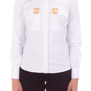 Camicia con logo Elisabetta Franchi