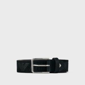 Cintura in nabuk Emporio Armani