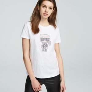 T-shirt iconic Karl Lagerfeld