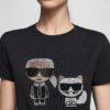 bmft-your-daily-stylist-blu-moda-fashion-team-pontecagnano-faiano-t-shirt-iconic-nera-karl-lagerfeld 1