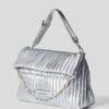 bmft-your-daily-stylist-blu-moda-fashion-team-pontecagnano-faiano-tote-bag-argento-karl-lagerfeld 1