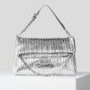 bmft-your-daily-stylist-blu-moda-fashion-team-pontecagnano-faiano-tote-bag-argento-karl-lagerfeld