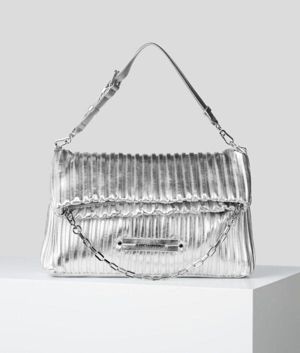 Tote bag argento Karl Lagerfeld