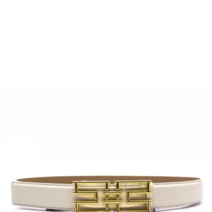 Cintura burro con logo Elisabetta Franchi