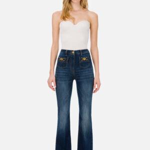 Jeans a zampa Elisabetta Franchi