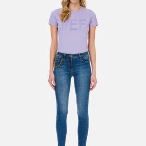 Jeans con charm Elisabetta Franchi
