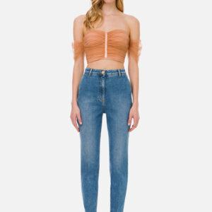 Jeans con ricamo Elisabetta Franchi