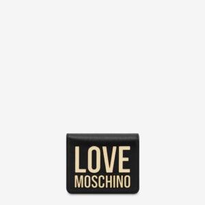 Portafoglio con logo Love Moschino