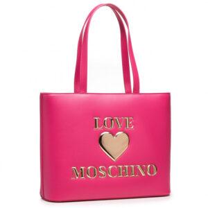 Shopper Fucsia Love Moschino