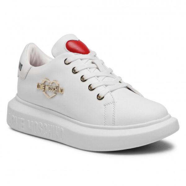 Sneakers bianca Love Moschino