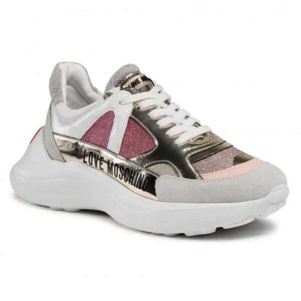 Sneakers glitter Love Moschino