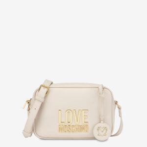 Tracolla zip avorio Love Moschino