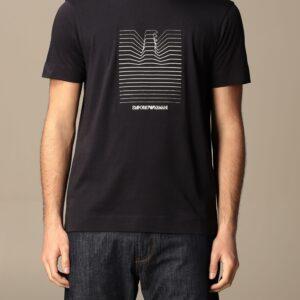 T-shirt logo aquila Emporio Armani