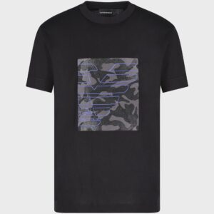 T-shirt stampa camouflage Emporio Armani